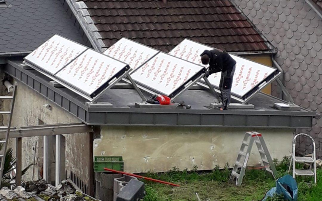 Heizungen – Pellet mit Solar