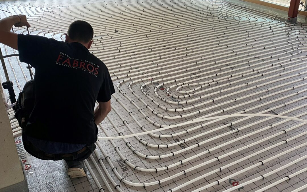 Fußbodenheizung Remich